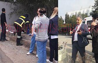 Yangın kontrol altına alındı, hastalar hastane bahçesinde her yerde!!!
