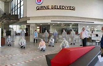 Girne Belediyesi'nde iş sağlığı güvenliği ve eğitimi çalışmaları