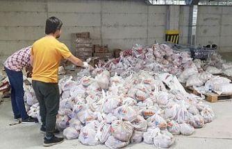 Girne bölgesinde ihtiyaçlılara yardım