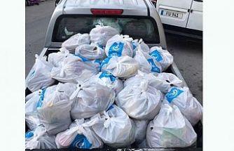 KKTC Ülkü Ocakları bin aileye yardım yaptı