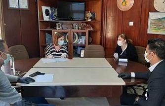 Lapta'da koronavirüs toplantısı