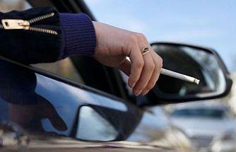 ÇEVRE ÖRGÜTLERİ: Arabada sigara içilmesi yasaklanmalı