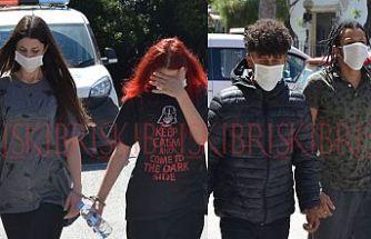 7 genç kavga etti, 2'si  kesici aletle yaralandı