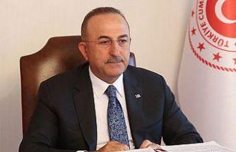 Çavuşoğlu: Doğu Akdeniz'de Türkiye'nin olmadığı hiçbir anlaşma geçerli değildir
