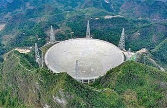 Çinliler, 500 metrelik teleskopla uzaylı arayacak