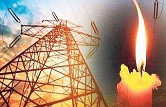 Çatalköy'de elektrik kesintisi