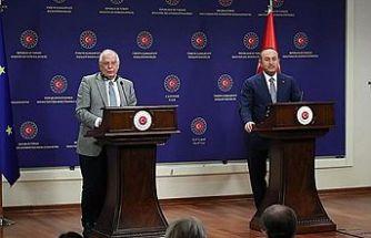 Çavuşoğlu: Türkiye olarak, KKTC olarak biz paylaşmaya, işbirliğine varız