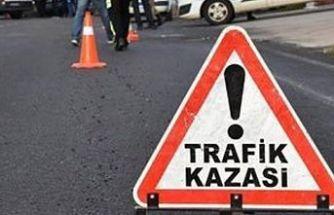 Girne'de trafik kazası: Motosiklet sürücüsü yoğun bakımda!