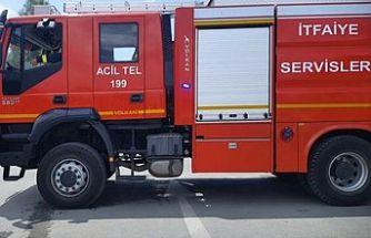 Gönyeli ve Gaziköy'de yangın