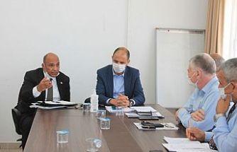 Lefke ilçesinin sorunları düzenlenen toplantı ile masaya yatırıldı