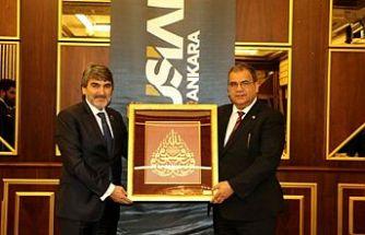 Sucuoğlu MÜSİAD Ankara üyeleriyle bir araya geldi
