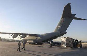 Türkiye'den Irak'a tıbbi malzeme yardımı