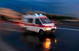Alayköy'de iş kazası!