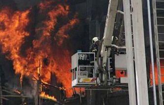 Hindistan'da korona hastanesinde yangın