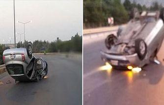 Lefkoşa – Girne Anayolunda kaza!