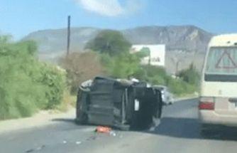 Lefkoşa-Girne yolunda kaza!