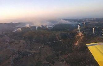 Limasol-Baf arasında büyük yangın!