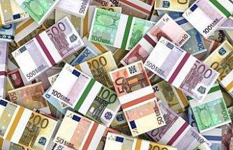 Toplam tutar 2 milyon euro