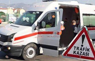 Güzelyurt-Lefke yolunda kaza: 1ağır yaralı