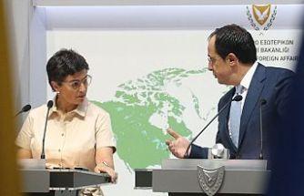 İspanya Dışişleri Bakanı Güney Kıbrıs'ta