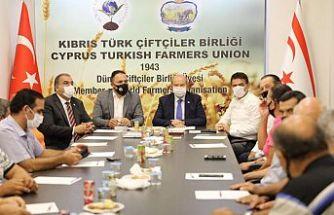 Tatar: Türkiye'den gelen su Güzelyurt ve Mesarya'ya mutlaka verilecek