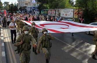 29 Ekim Cumhuriyet Bayramı Lefkoşa'da coşkuyla kutlandı