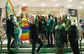 """İki toplumu kısa film """"Av"""" galasını Limasol'da yaptı"""