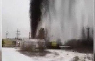 Rusya'da petrol boru hattı patladı