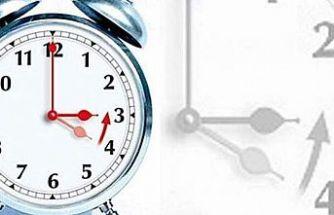 Saatlerinizi 1 saat geri almayı unutmayın