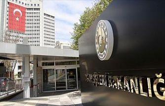 Türkiye'den Ermenistan'a kınama
