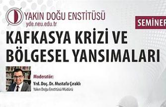 """YDÜ, """"Küresel Gündem"""" seminerlerini başlatıyor"""