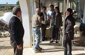 Bakan Baybars Ozanköy ve Sadrazamköy'de incelemelerde bulundu