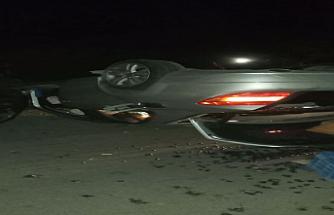 Gemikonağında trafik kazası meydana geldi: 2 hafif yaralı
