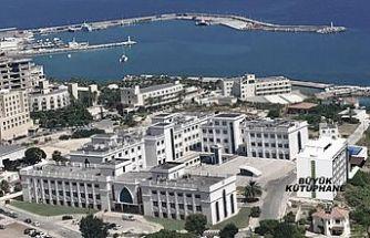 Girne Üniversitesi büyük kütüphane 3 Aralık'ta Cumhurbaşkanı Tatar tarafından açılacak