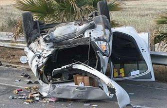 KKTC'de son bir haftada 56 trafik kazası meydana geldi