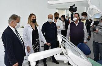 Lefkoşa Hastanesinde yeni diş kliniği açılışı yapıldı