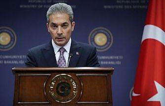TC Dışişleri Bakanlığından Yunanistan Dışişleri bakanı Dendias'a tepki