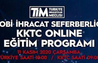 """TİM ve KTSO işbirliğinde """"Kobi İhracat Seferberliği Eğitimi"""" herkese açık yapılıyor"""