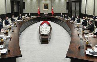 Türkiye'de Cumhurbaşkanlığı Kabinesi toplandı