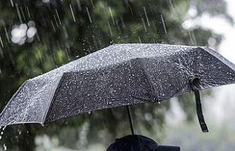Yağışlı hava sürüyor,yarın ve salı günü de yağmur var