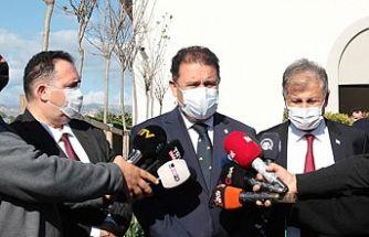 """Başbakan Saner: """"Hedefimiz 250 bin kişiyi aşılamak"""""""