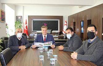 Başbakan Yardımcısı Ekonomi ve Enerji Bakanı Arıklı KTEMB'yi kabul etti