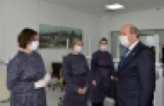 Cumhurbaşkanı Tatar Sağlık ve Toplum Bilimleri Üniversitesi'ni ziyaet etti