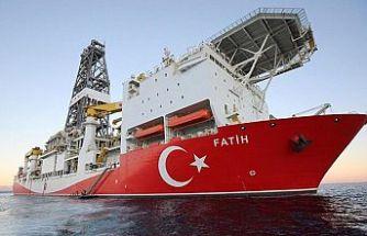 Fatih sondaj gemisinin Karadeniz'deki yeni sondaj lokasyonu olan Türkali-2 kuyusuna ulaştığını bildirdi