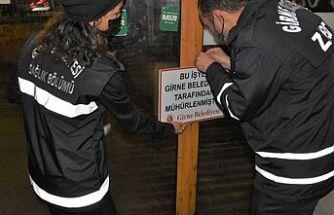 Girne Belediyesi, 436 işyerini denetledi