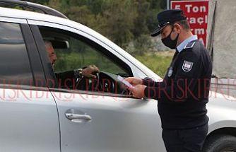 Girne'ye giriş-çıkış  denetim altına alındı