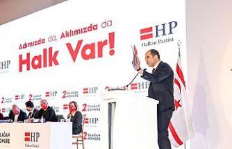 HP genel başkanlığına yeniden Özersay seçildi