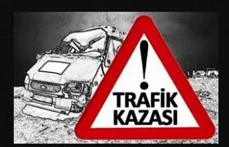 Lefkoşa – Gazimağusa anayolunda araç takla attı