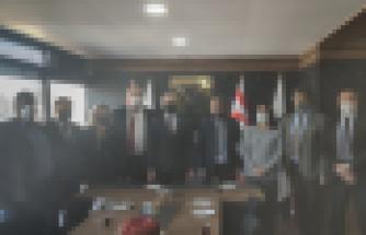 Milli Eğitim ve Kültür Bakanı Olgun Amcaoğlu, YÖDAK'ı ziyaret etti