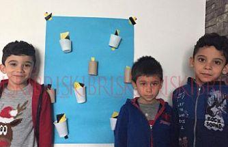 Özay Günsel Çocuk Üniversitesi, öğrencilerinin yaratıcı el becerilerini geliştiren etkinlikler düzenledi